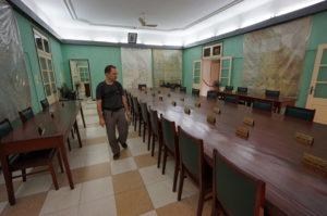 Von diesem Raum aus organisierte die nordvietnamesische Armee den Krieg