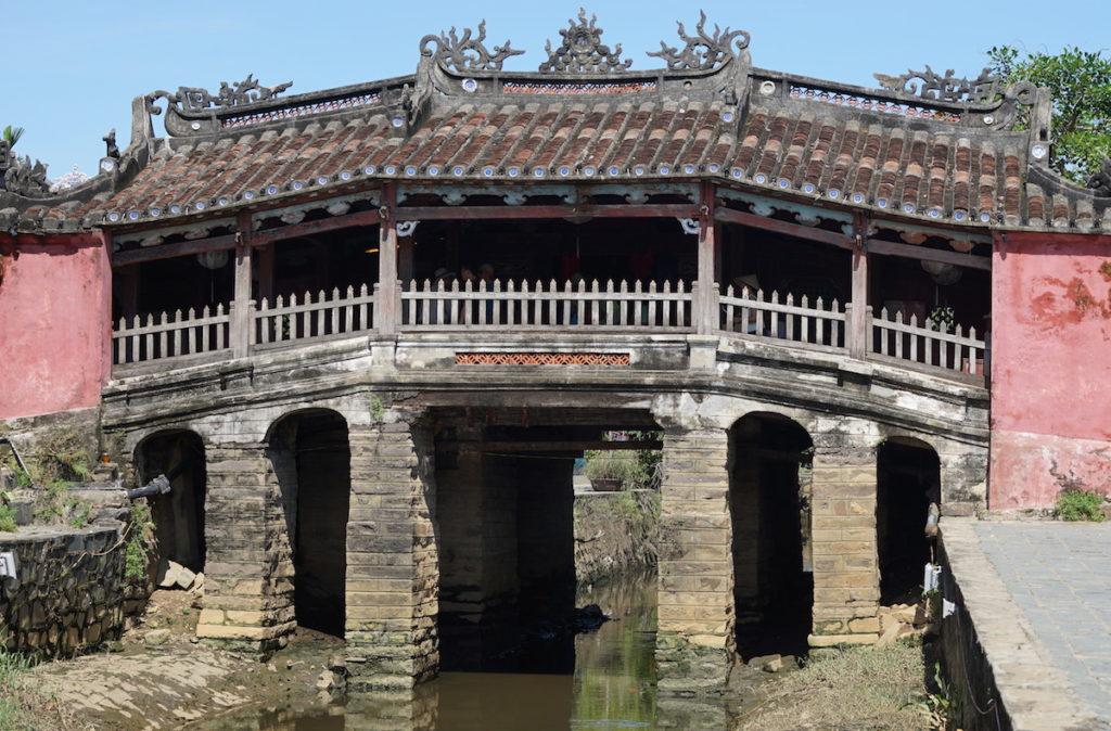 Japanische Brücke von Hoi An