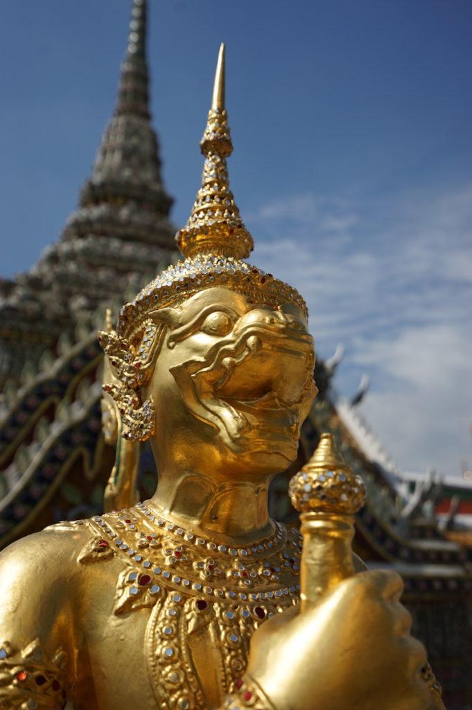Die Tempelanlagen Bangkoks sind unvergleichlich