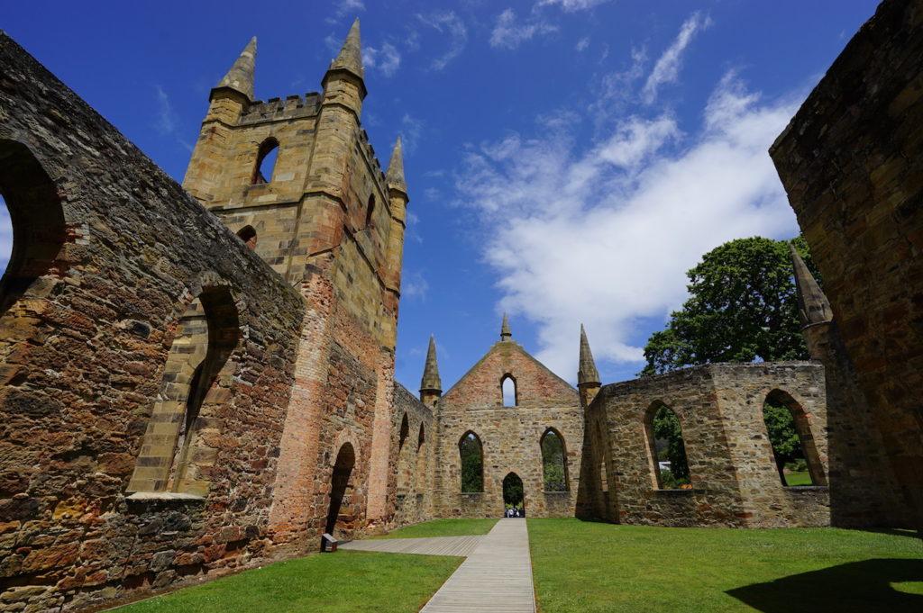 Ruine der ökumenische Kirche
