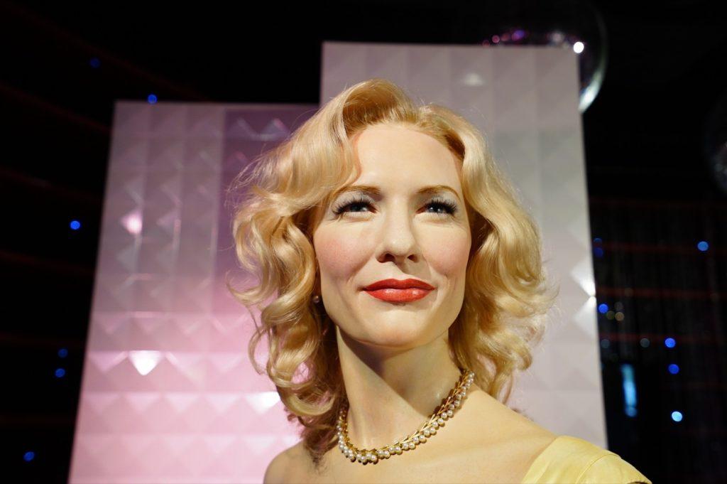 ... im Madame Tussauds machen alle eine gute Figur – Kate Blanchett sowieso.