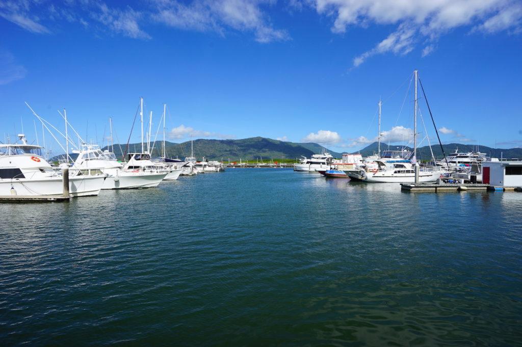 Im Hafen von Cairns